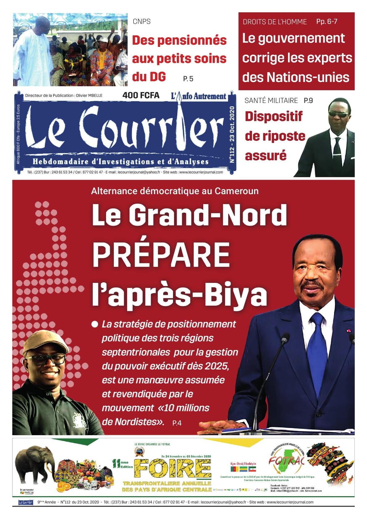 LE COURRIER - 23/10/2020