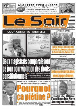 Le Soir - 14/10/2020