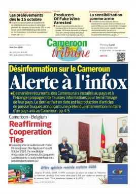 Cameroon Tribune - 12/10/2020