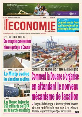 Le Quotidien de l'Economie - 22/10/2020