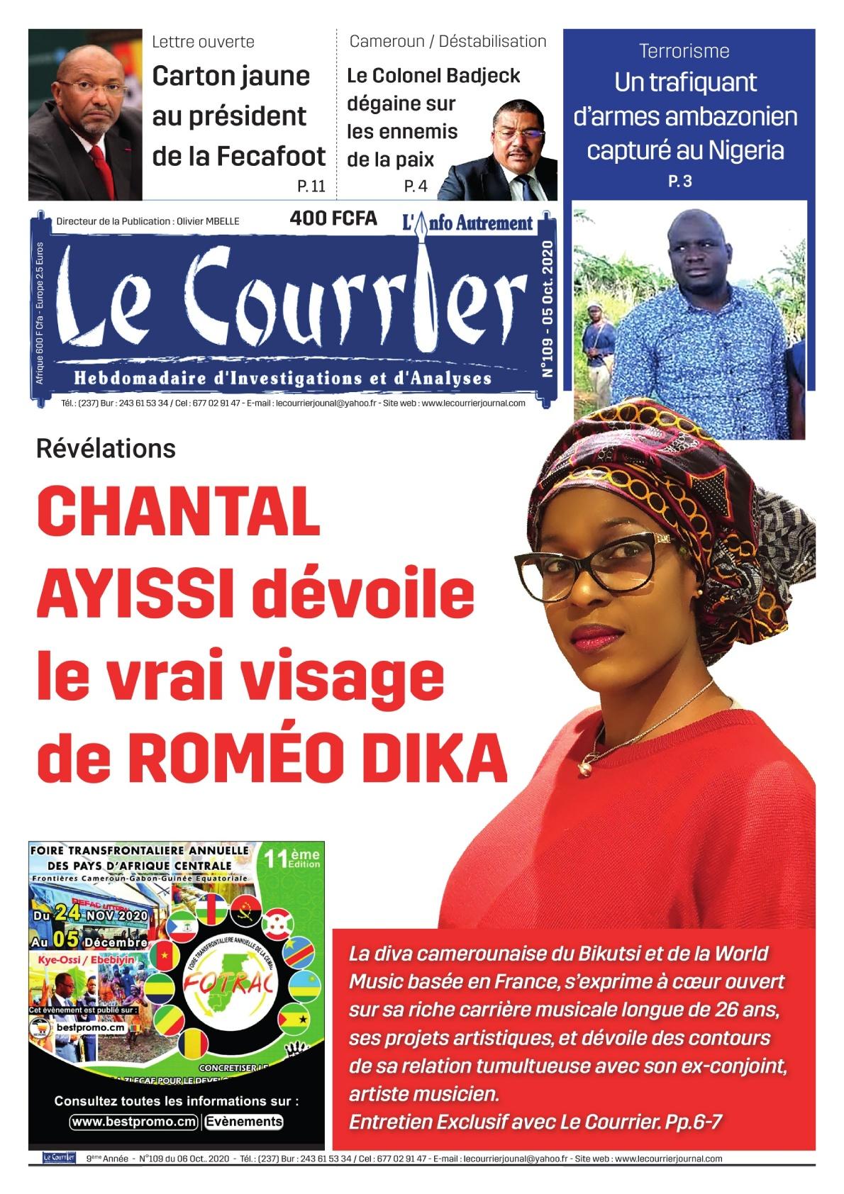 LE COURRIER - 07/10/2020