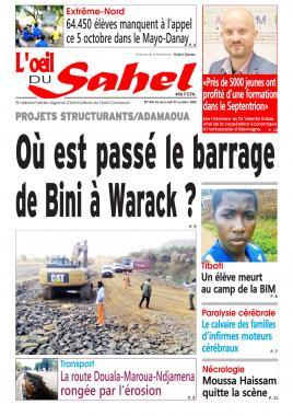 L'oeil du Sahel - 07/10/2020