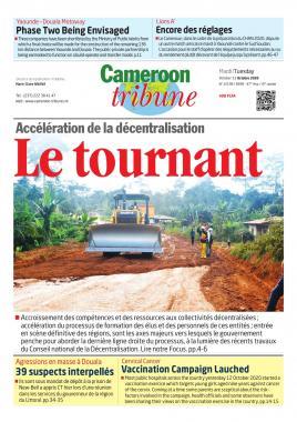 Cameroon Tribune - 13/10/2020