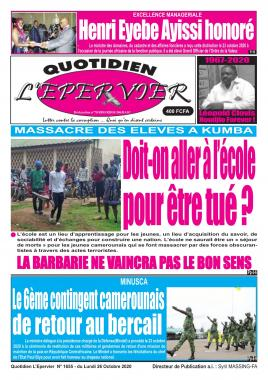L'Epervier - 26/10/2020