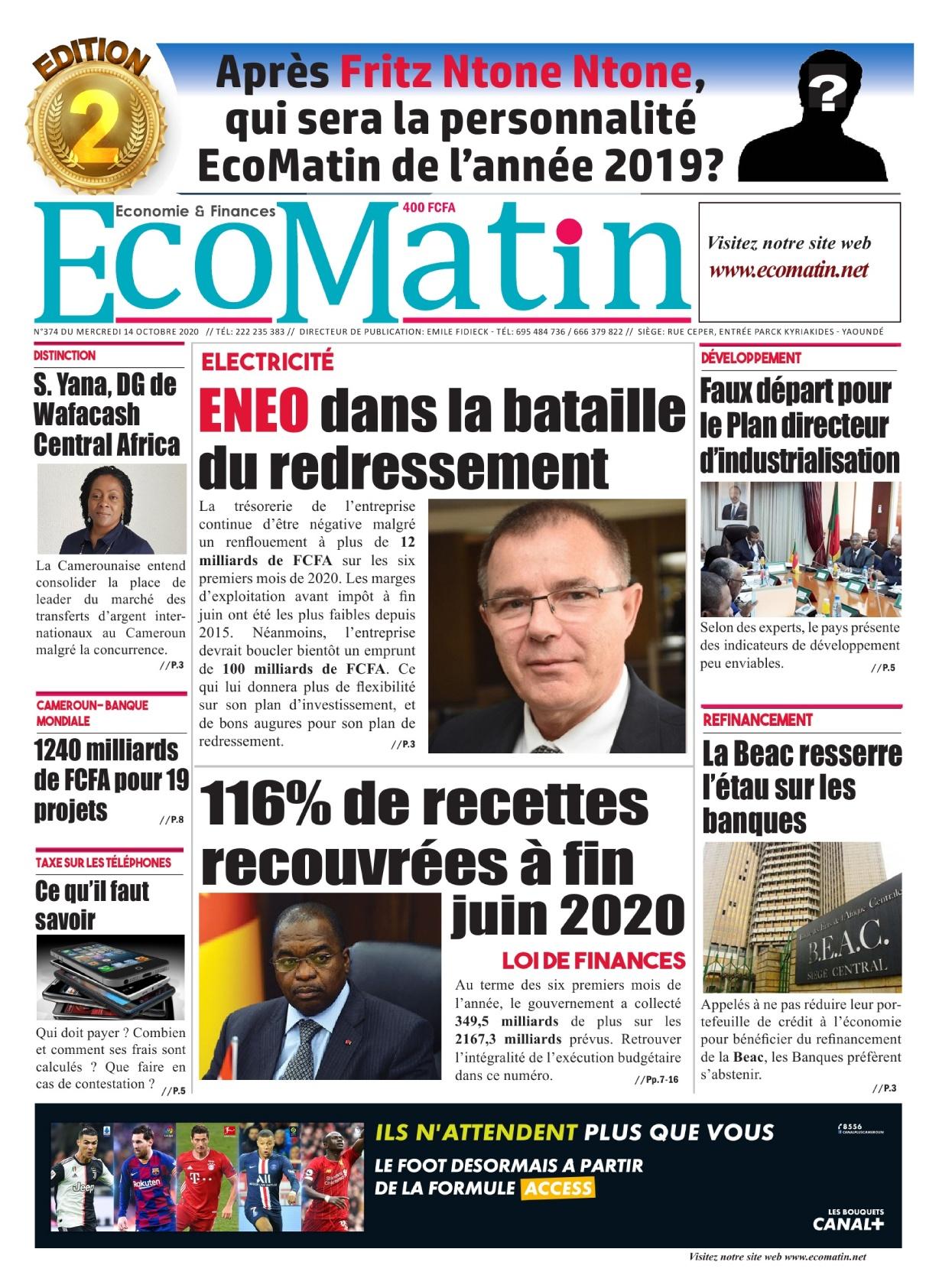 Ecomatin - 14/10/2020