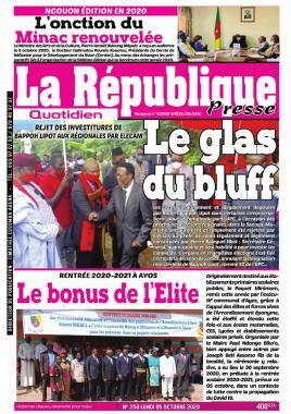 LA REPUBLIQUE PRESSE - 05/10/2020