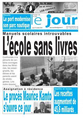 Le Jour - 15/10/2020