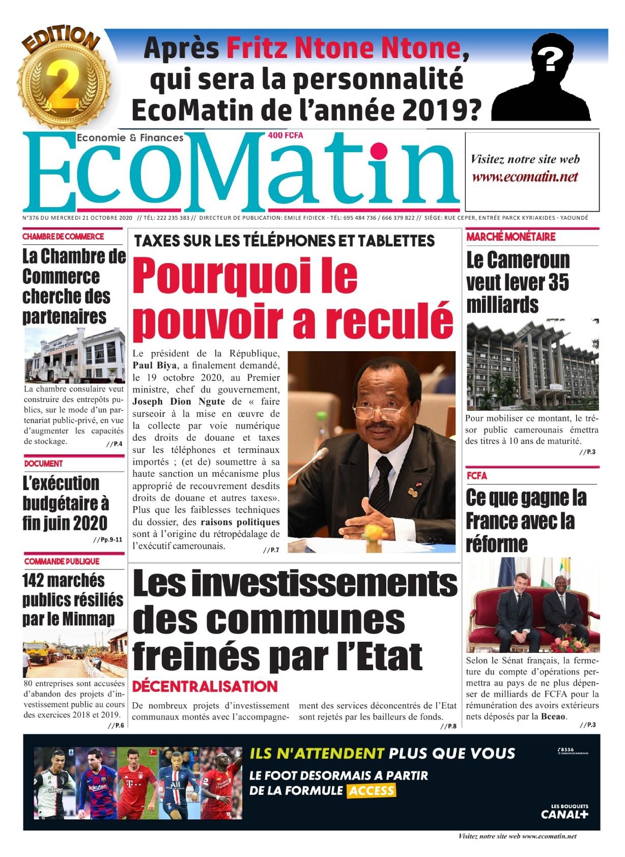 Ecomatin - 21/10/2020
