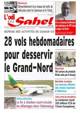 L'oeil du Sahel - 09/10/2020
