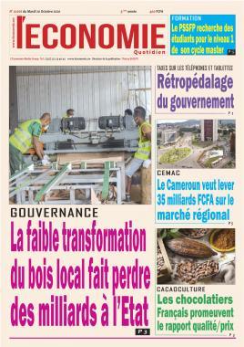 Le Quotidien de l'Economie - 20/10/2020