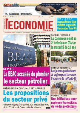 Le Quotidien de l'Economie - 26/10/2020