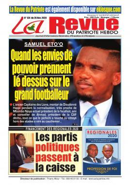 La Revue du Patriote - 26/11/2020