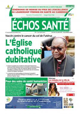 Echos Santé - 09/11/2020
