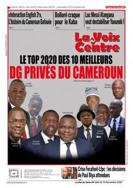 LA VOIX DU CENTRE - 23/11/2020