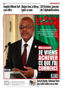 LA VOIX DU CENTRE - 02/11/2020