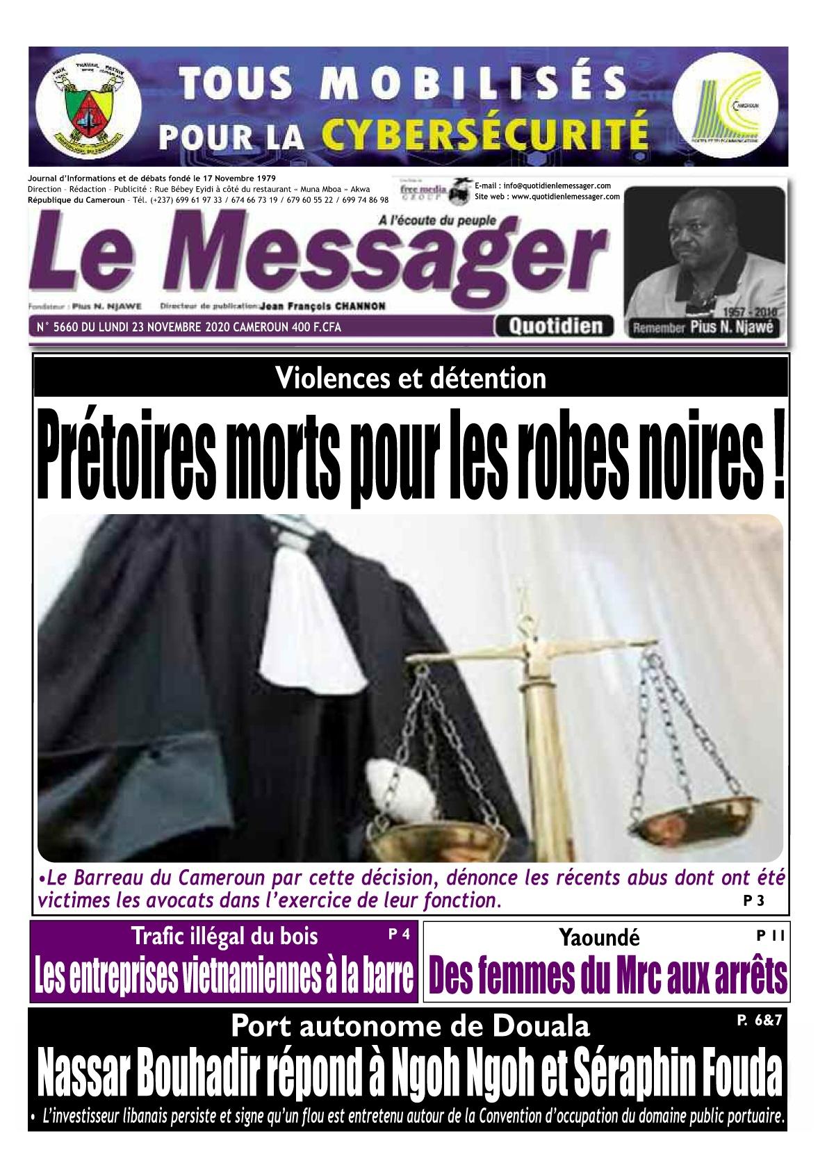 Le Messager - 23/11/2020