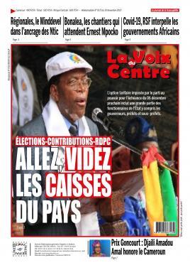 LA VOIX DU CENTRE - 30/11/2020