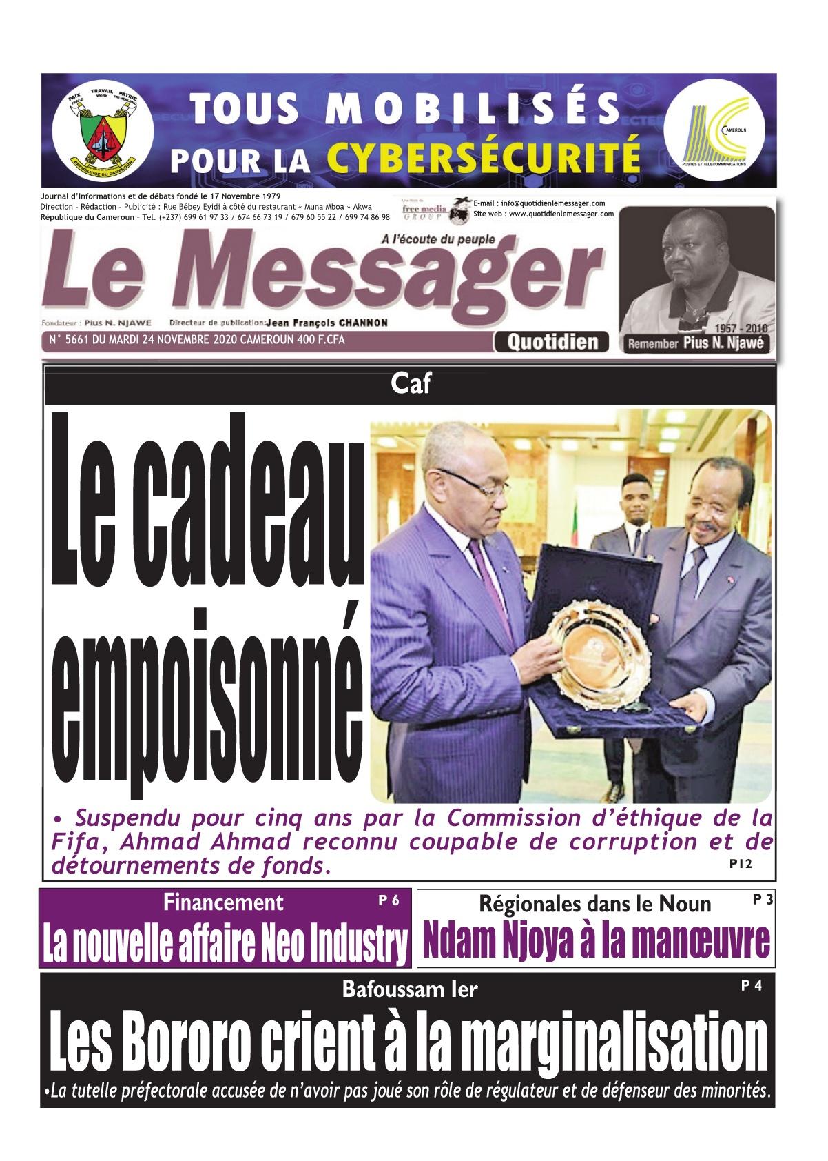 Le Messager - 24/11/2020