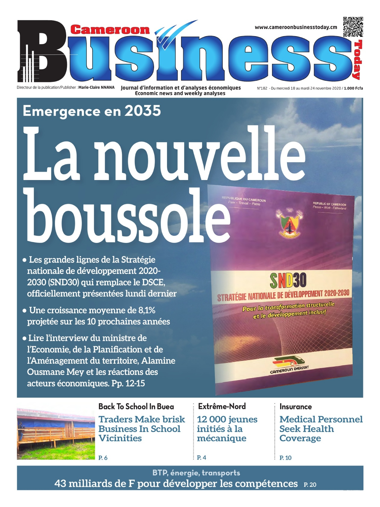 Cameroon Business - 18/11/2020