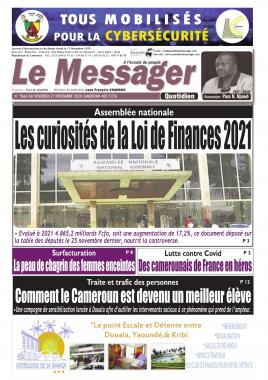 Le Messager - 27/11/2020