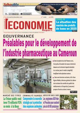 Le Quotidien de l'Economie - 09/11/2020