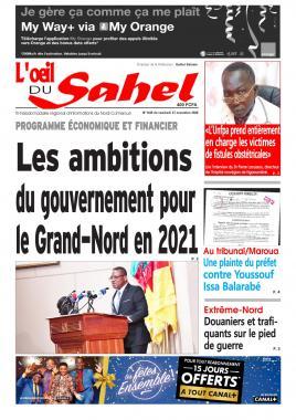 L'oeil du Sahel - 27/11/2020
