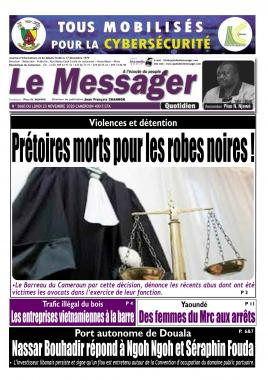 Le Messager - 23/11/2020