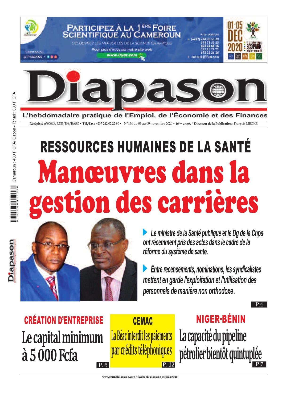 Diapason - 03/11/2020