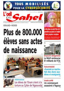 L'oeil du Sahel - 18/11/2020