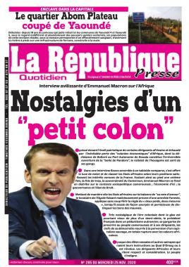 LA REPUBLIQUE PRESSE - 25/11/2020