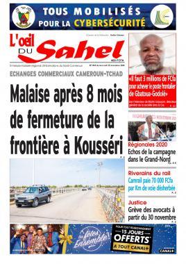 L'oeil du Sahel - 25/11/2020