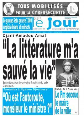 Le Jour - 30/11/2020
