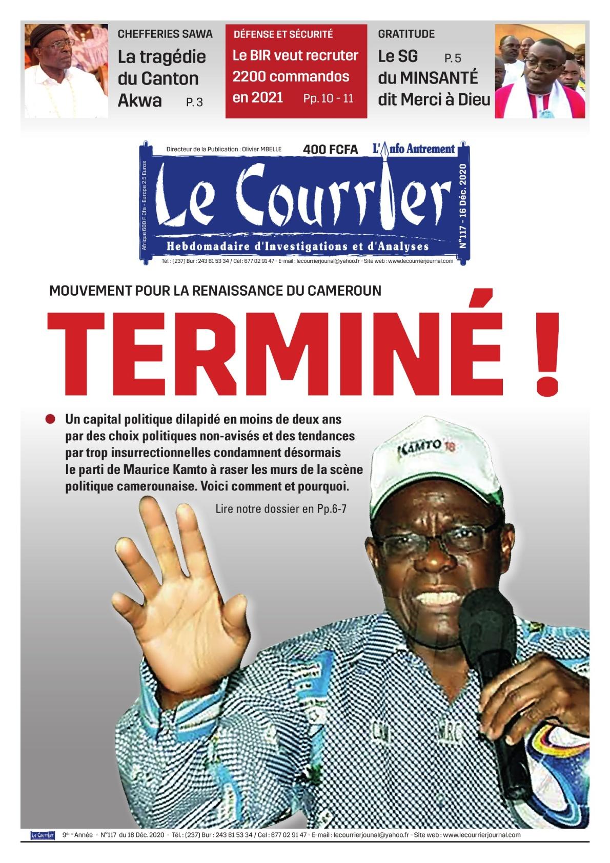 LE COURRIER - 17/12/2020