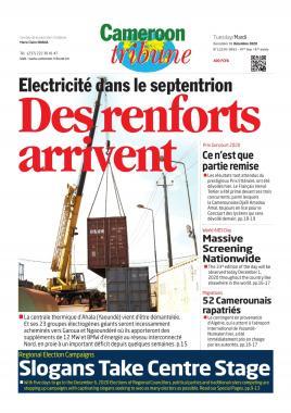 Cameroon Tribune - 01/12/2020