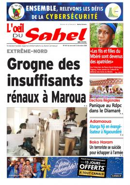 L'oeil du Sahel - 02/12/2020
