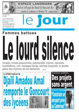 Le Jour - 03/12/2020
