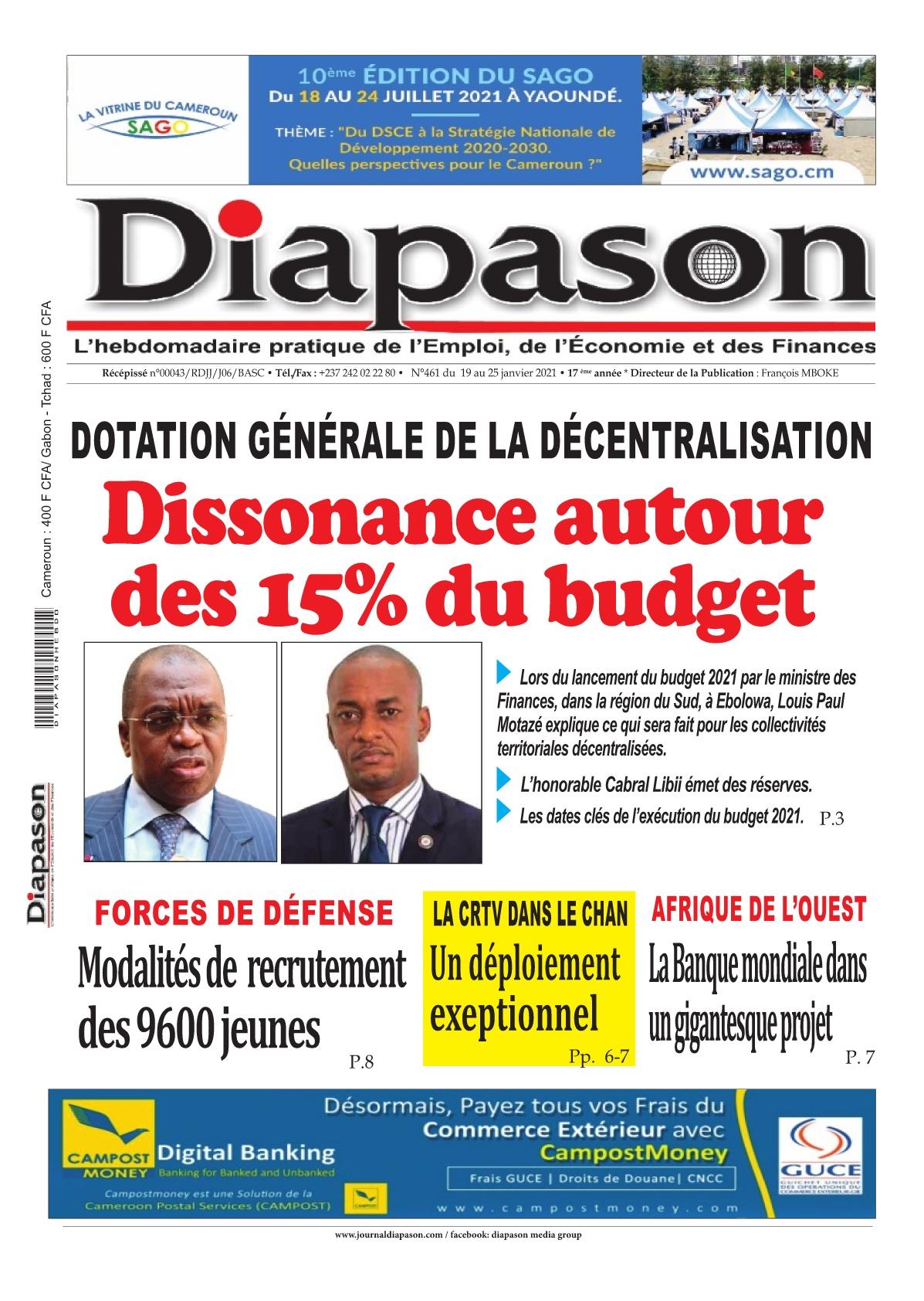 Diapason - 20/01/2021