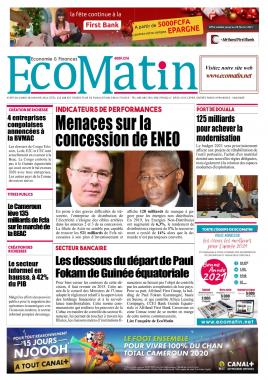 Ecomatin - 19/01/2021