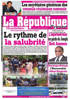 LA REPUBLIQUE PRESSE
