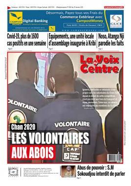 LA VOIX DU CENTRE - 25/01/2021