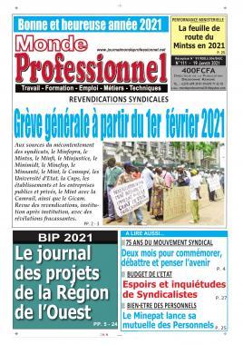 Monde Professionnel - 21/01/2021