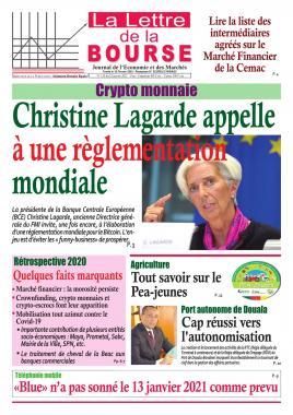 LA LETTRE DE LA BOURSE - 22/01/2021