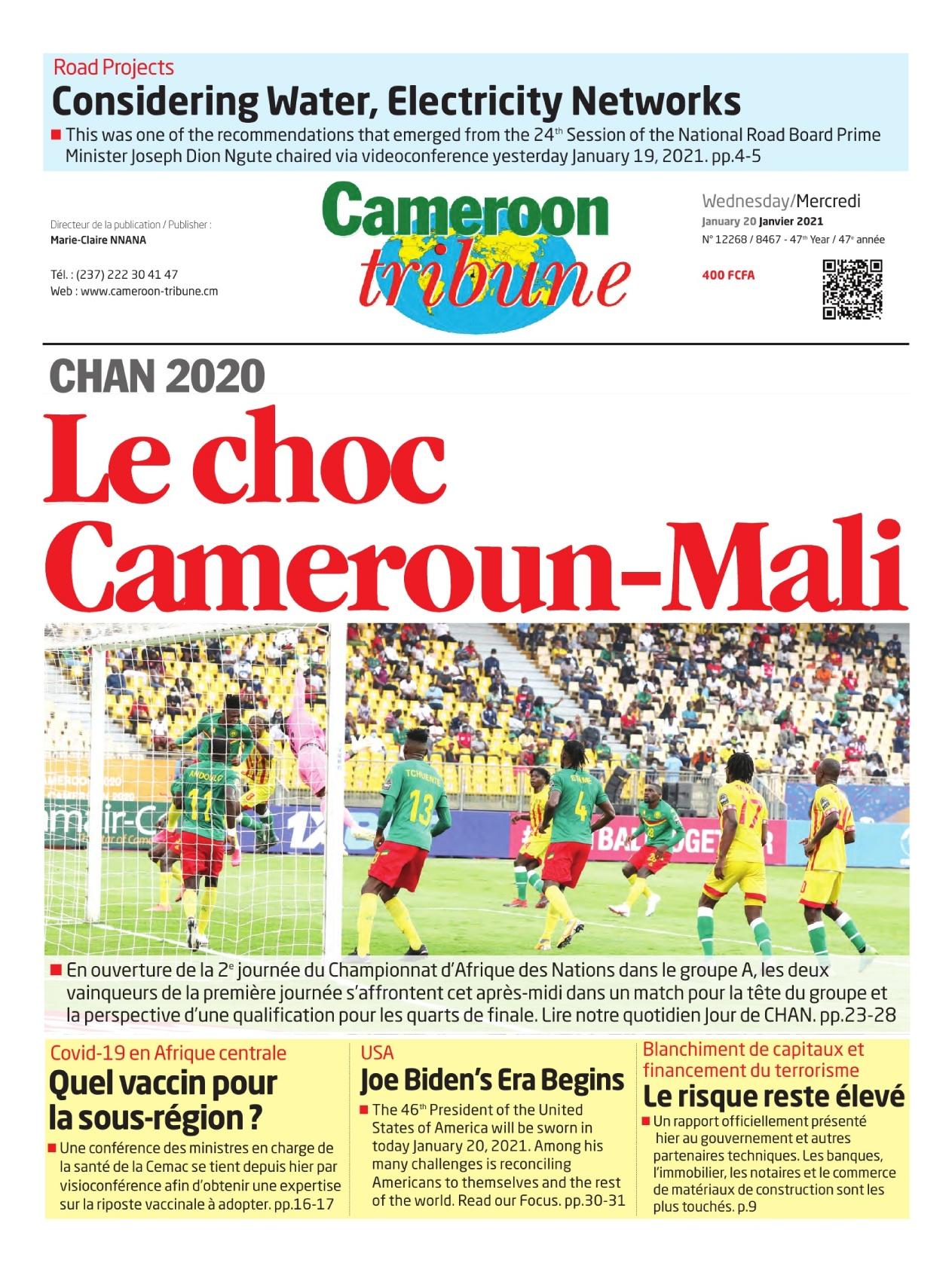 Cameroon Tribune - 20/01/2021