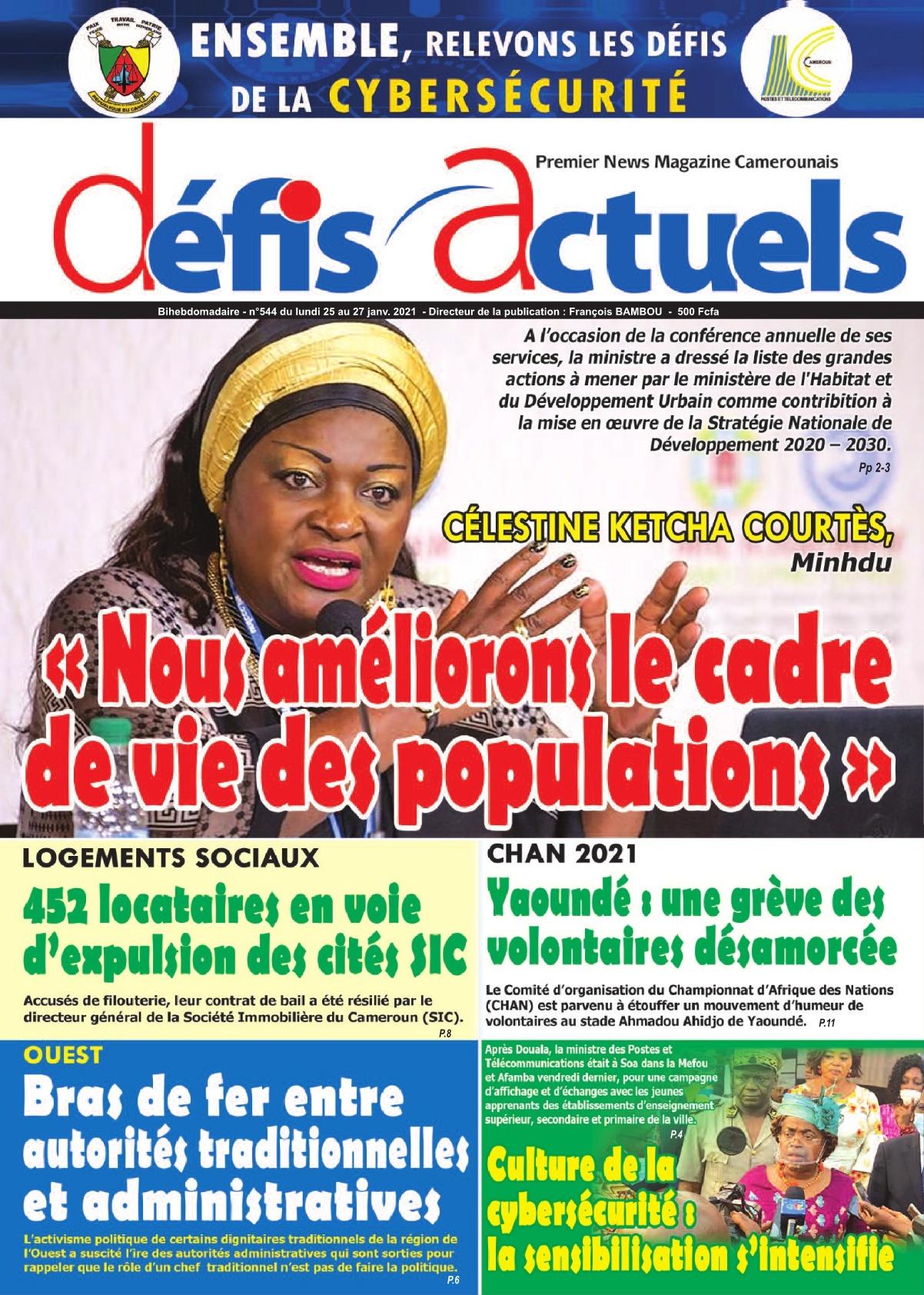 Défis Actuels - 25/01/2021