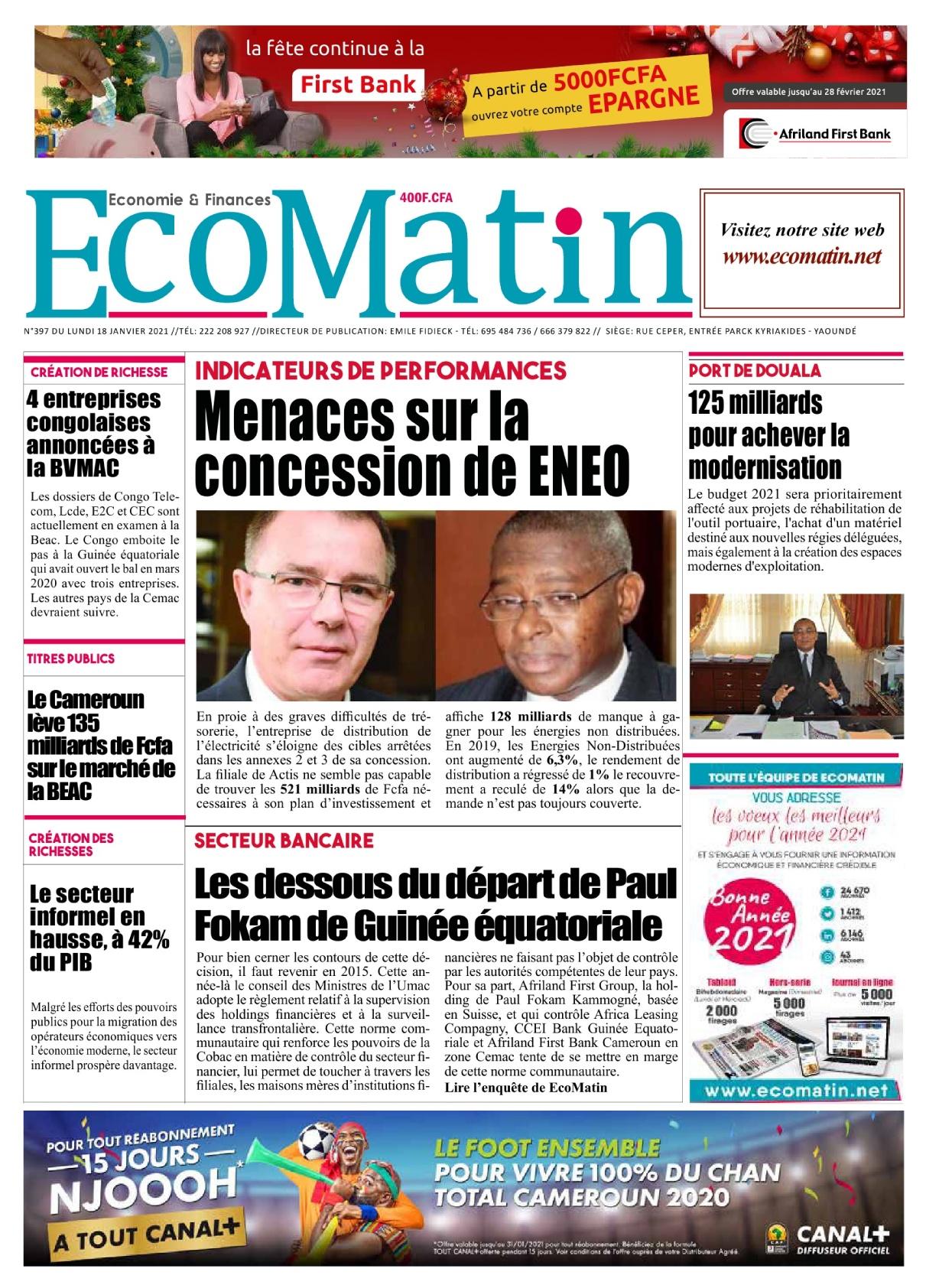 Ecomatin - 18/01/2021