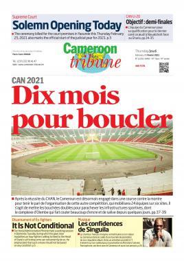 Cameroon Tribune - 25/02/2021