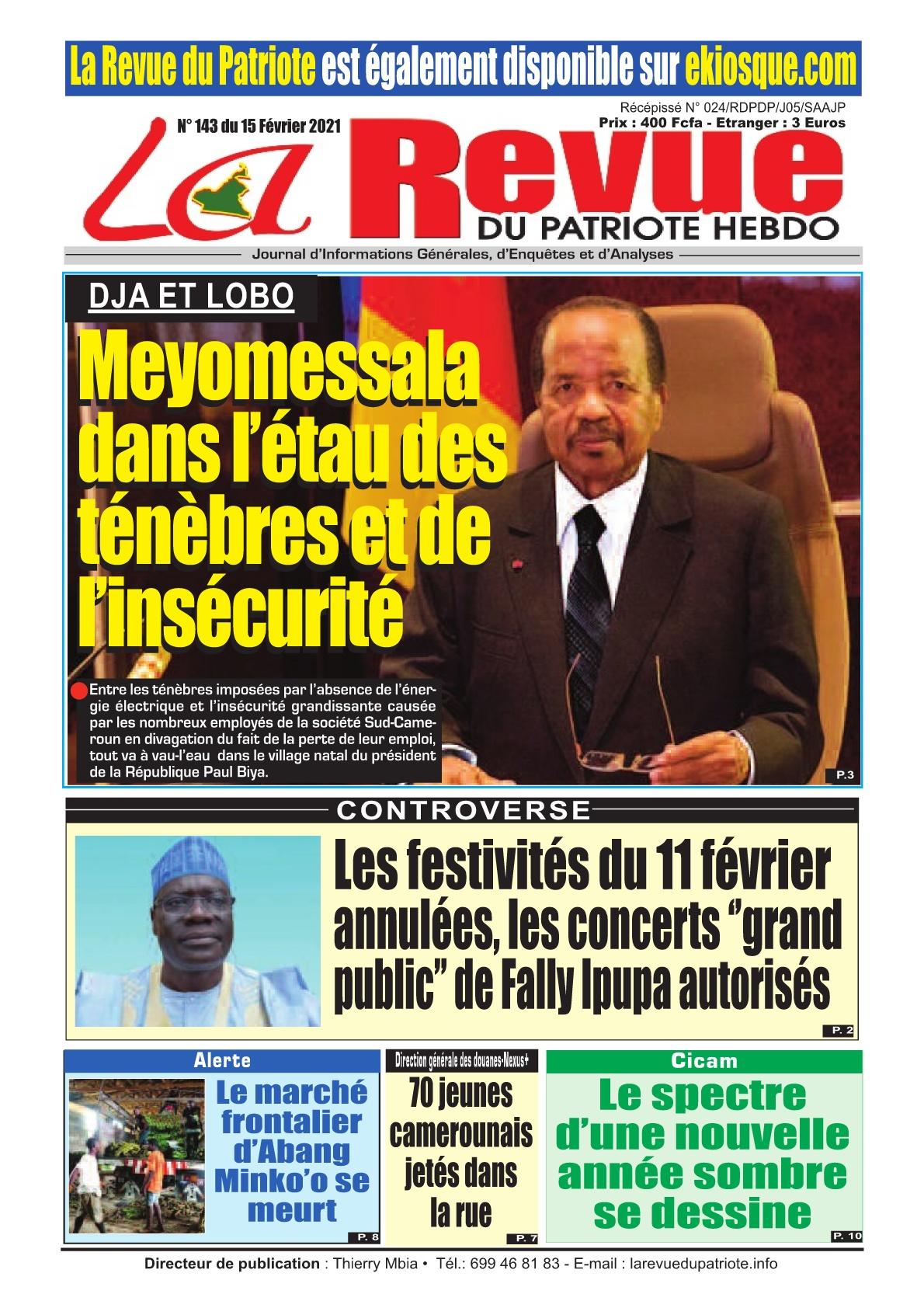 La Revue du Patriote - 15/02/2021