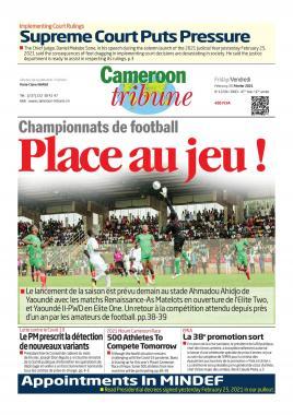 Cameroon Tribune - 26/02/2021