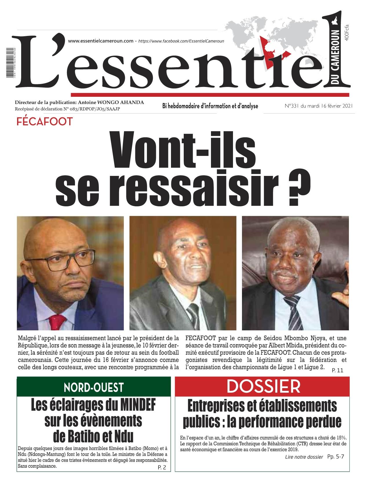 L'essentiel du Cameroun - 17/02/2021