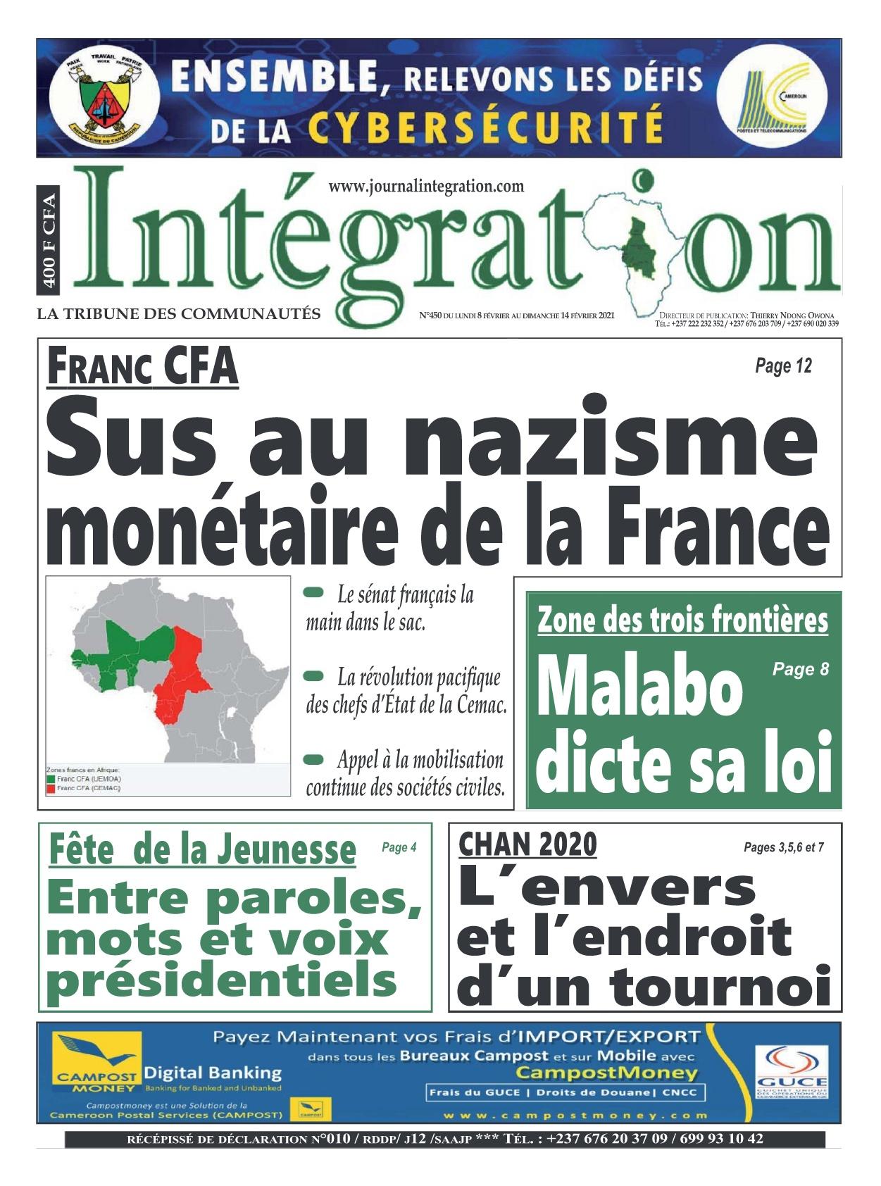 Intégration - 08/02/2021